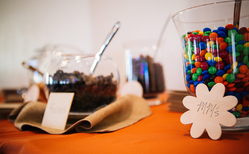 candy table wedding