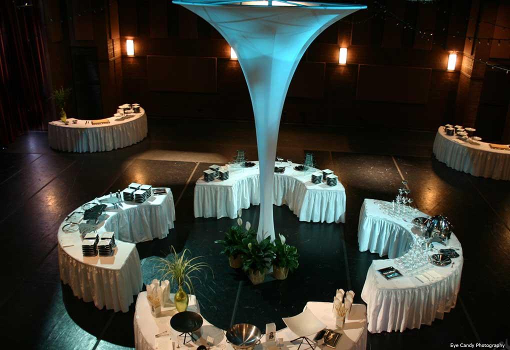 wedding food station