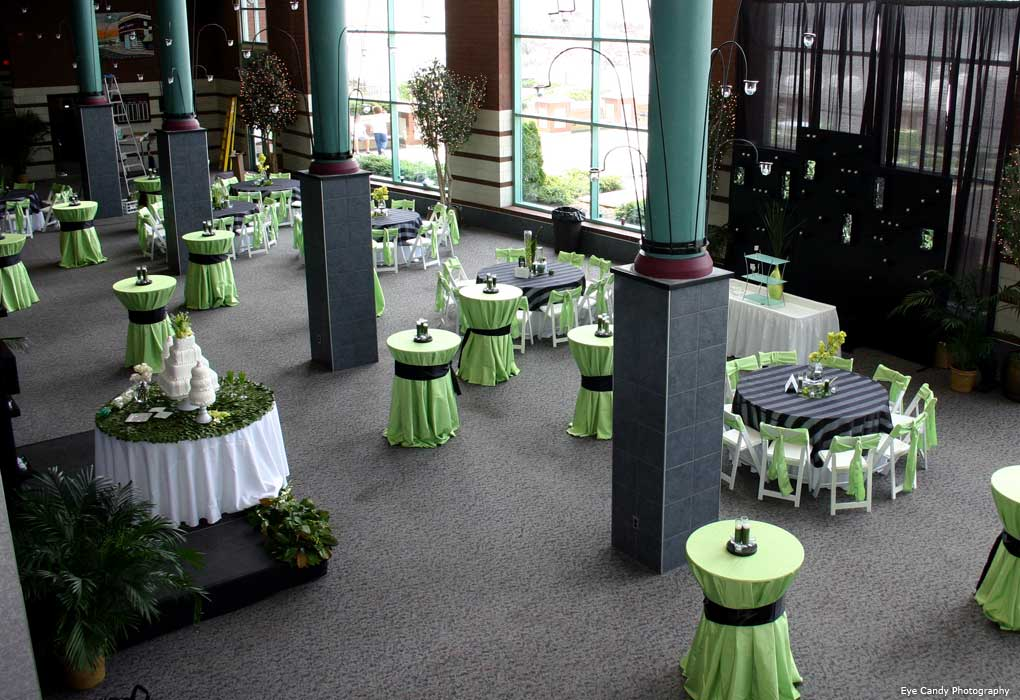 riverpark center wedding reception