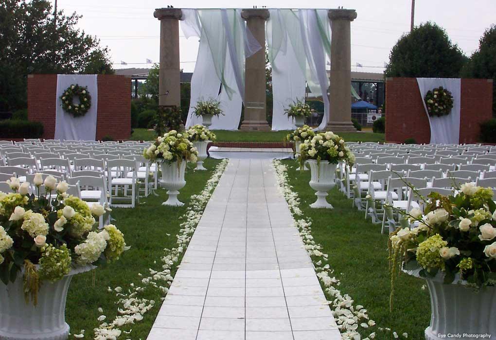wesley college wedding ceremony
