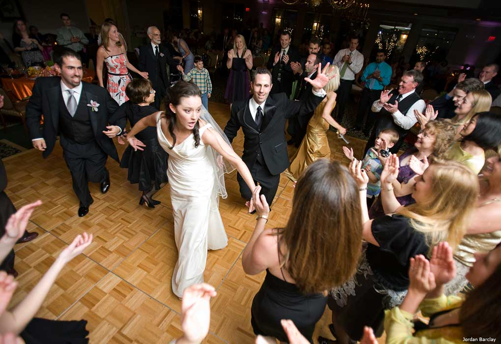dancing wedding reception