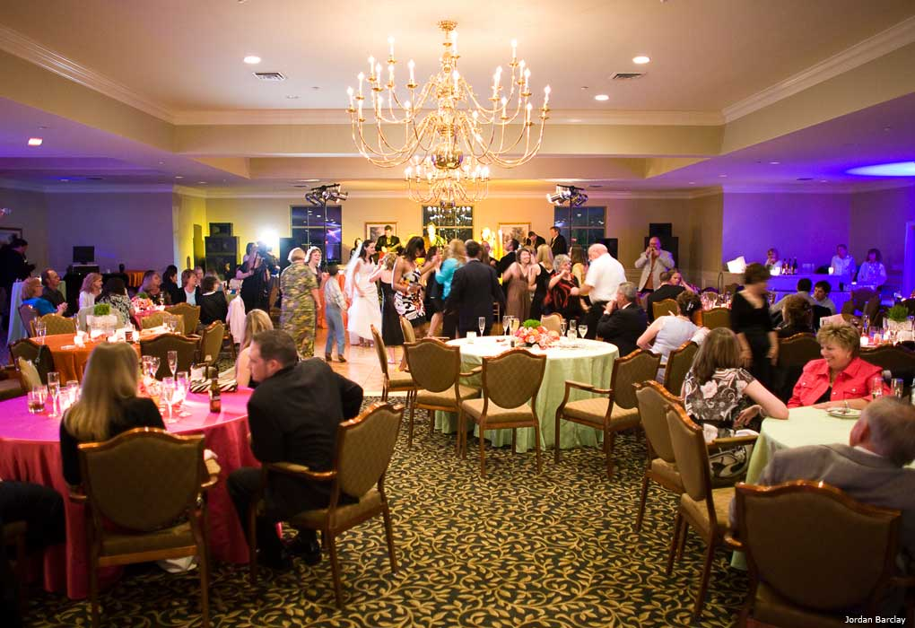 oak meadow wedding reception