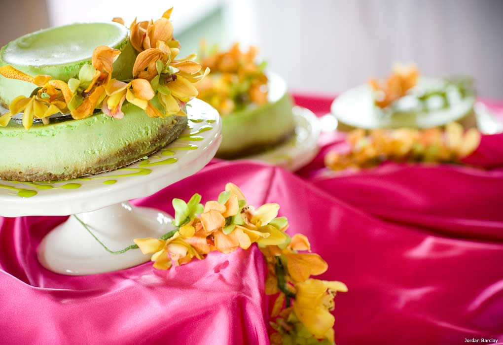 wedding key lime cheesecake