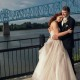 owensboro bridge wedding photo