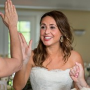 high five wedding