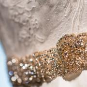 gold wedding belt
