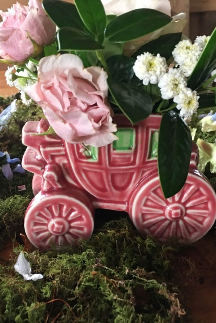 garden floral wedding