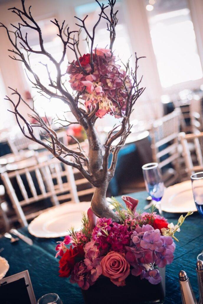 manzanita trees at wedding