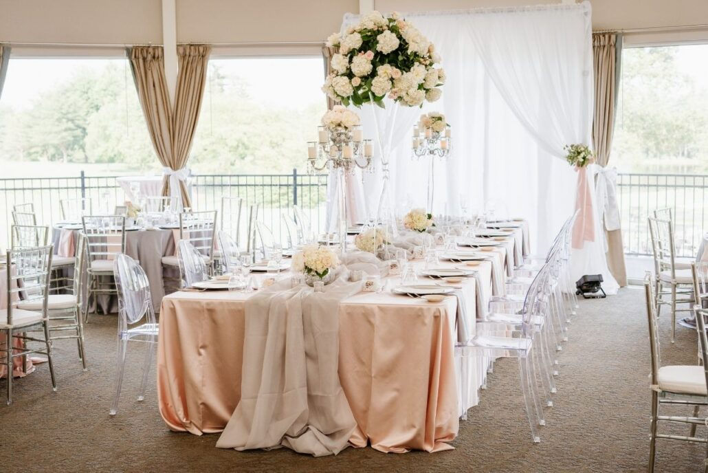 estate table gorgeous at rolling hills country club