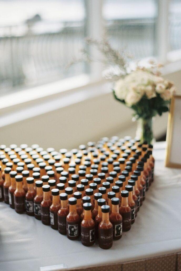 bbq sauce wedding favors